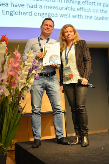 Best Presentation Award Winner Georg Engelhard