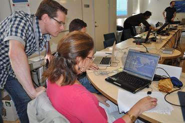 VMS training course; ICES 2012